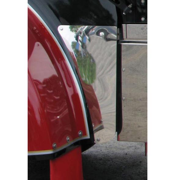 Kenworth W900L Lower Hood Panel On Truck
