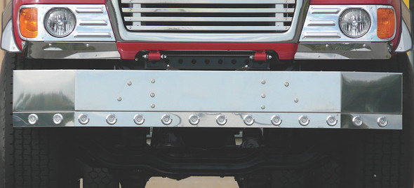 Mack GU713 Replacement Bumper With Mount Holes Only