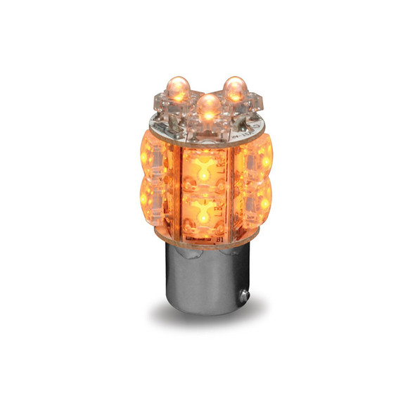 Amber LED 1157 360 Degree Twist In Replacement Bulb