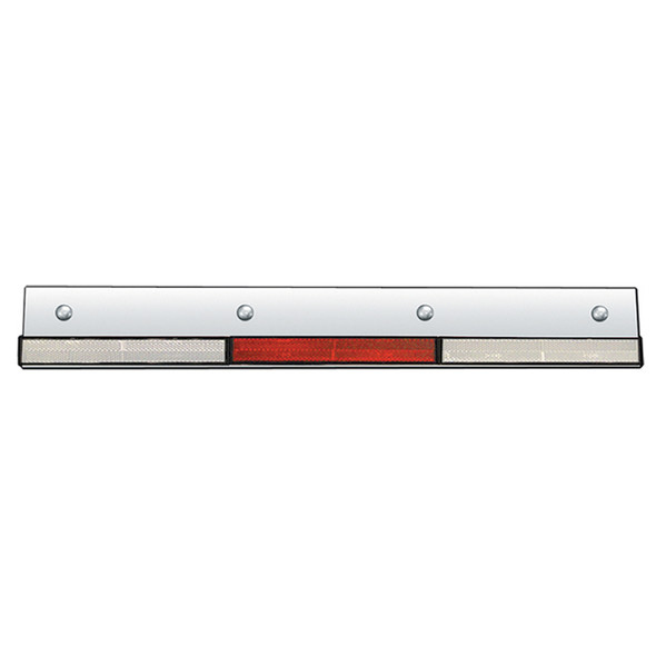 """Conspicuity Top Mud Flap Accent Trim 3.125"""" X 24"""" By Roadworks"""