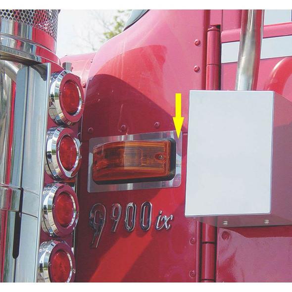 International 9900i Behind Air Cleaner Turn Signal Trims