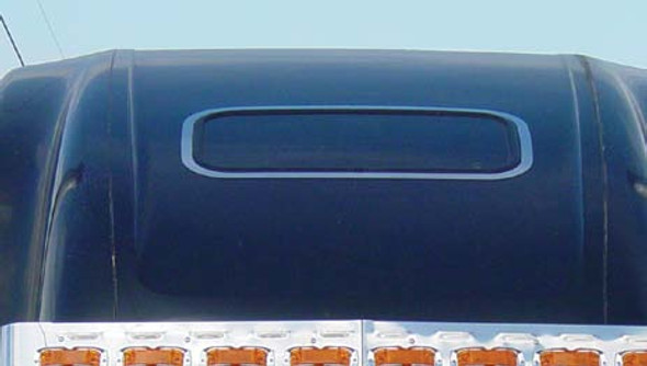 Freightliner Classic FLD  Roof Top Window Trim By RoadWorks