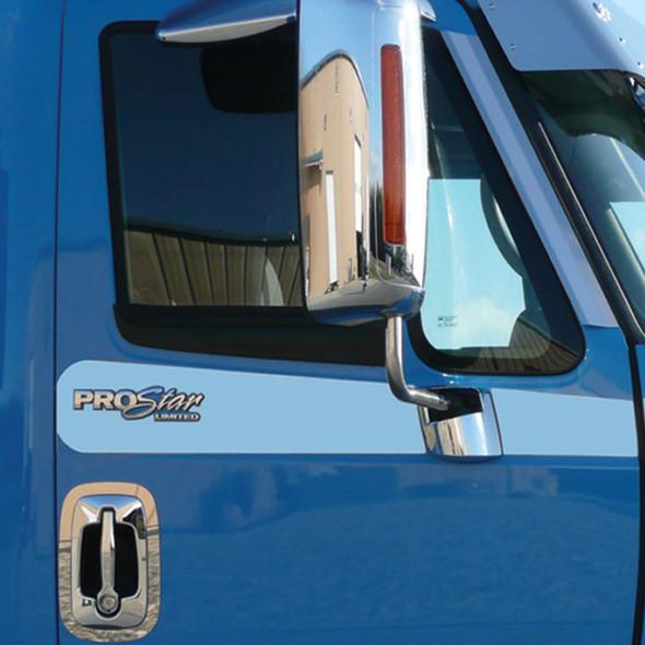 International Prostar Limited Under Window Logo Trims On Truck