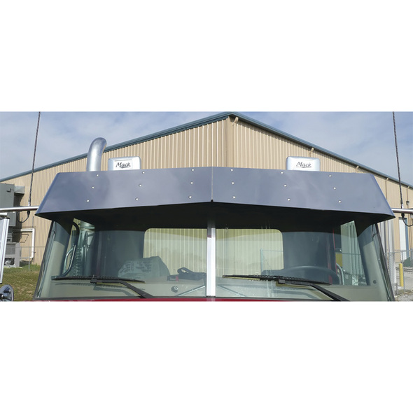 Mack Anthem Granite Center Windshield Trim On Truck