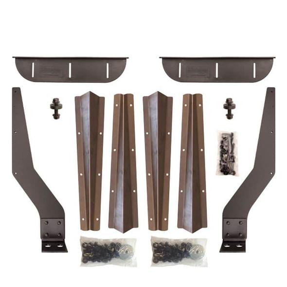 Steel weld on brackets for Minimizer 4000, 900, 1500, & 1554 Fender Series
