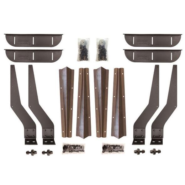 Steel weld on brackets for Minimizer TA/TF1554 TF900 & TA910 Fender Series