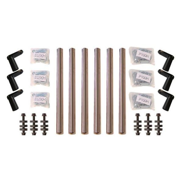 Stainless Steel bolt on brackets for Minimizer 1352 & 1354 Fender Series