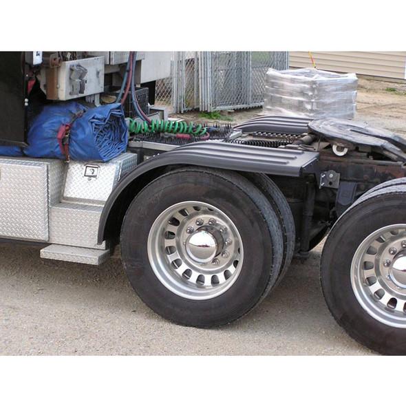 Poly Truck Half Fenders Minimizer 950 Fender Series Black On Truck