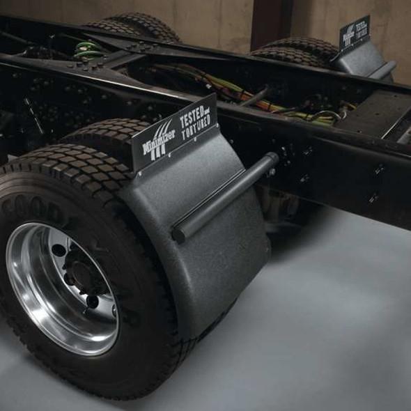 Minimizer Poly Quarter Fender Post Mount 1400 Series - On Truck