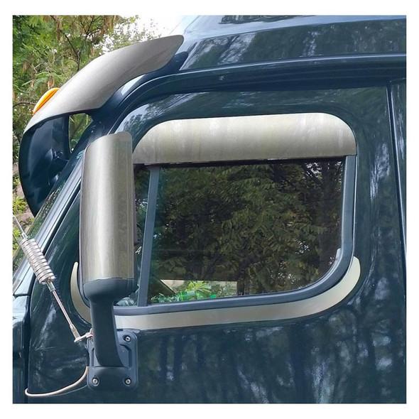 Freightliner Cascadia Lower Window Trim Close Up