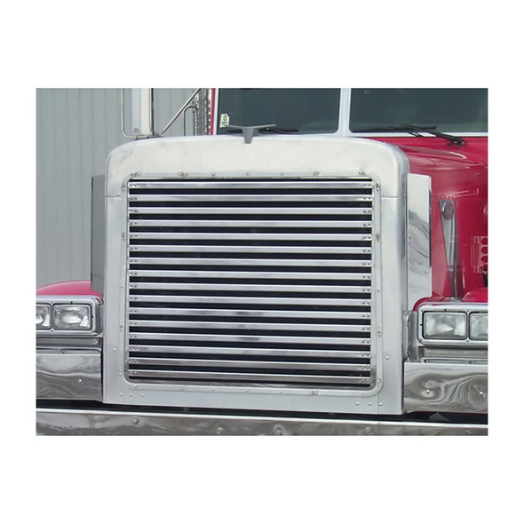 Peterbilt 379 Extended Hood Grill With16 Horizontal Bars