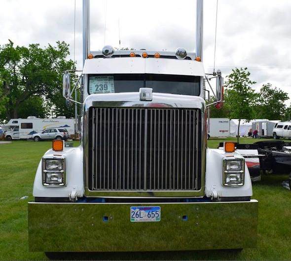 International 9300 Grill Insert On Truck Aluminum OE Style