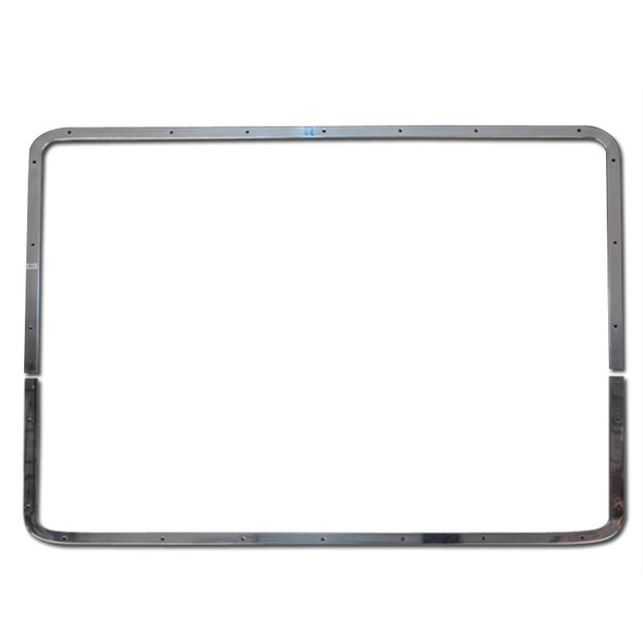 Grill Bezel For Peterbilt 377 378 379 Short Hood Grill Set Of Two Pieces
