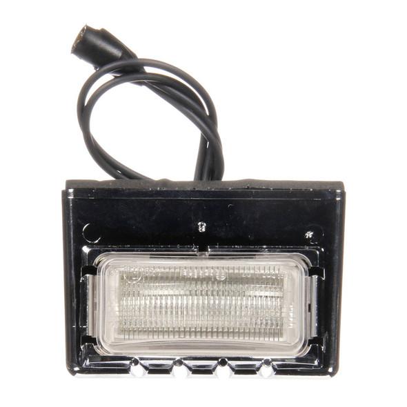 LED Model 15 License Lamp Kit Diamond Shell Front