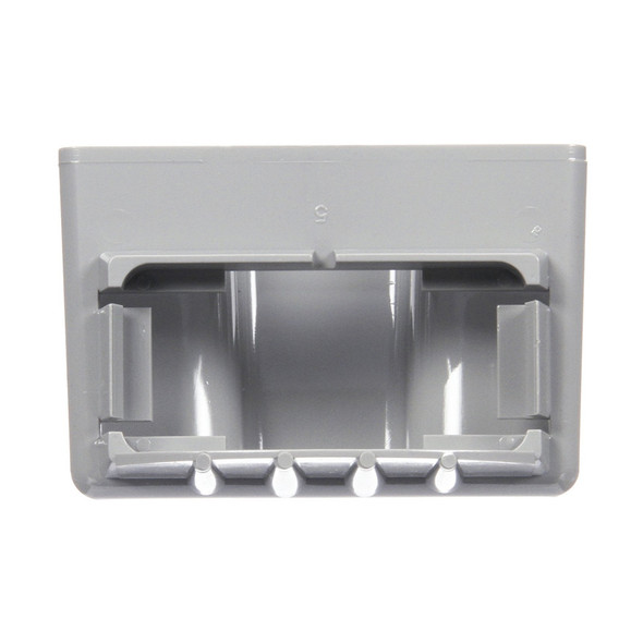 Grey License Mounting Bracket Front View
