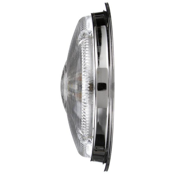 """Model 80 Bulb Replaceable 7"""" Dome Lamp Chrome Side"""