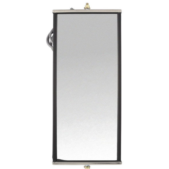Stainless Steel West Coast Heated Mirror - Front