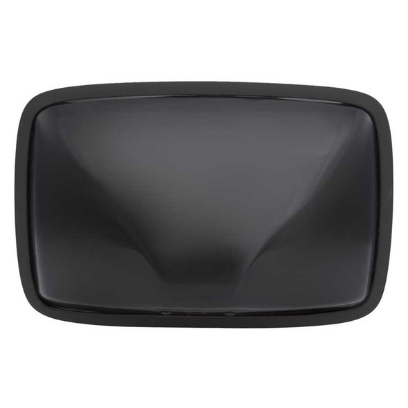 Universal Stainless Steel Black Flat Mirror Back View