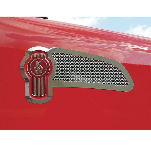 Kenworth T660 Intake Trim + Logo Screen