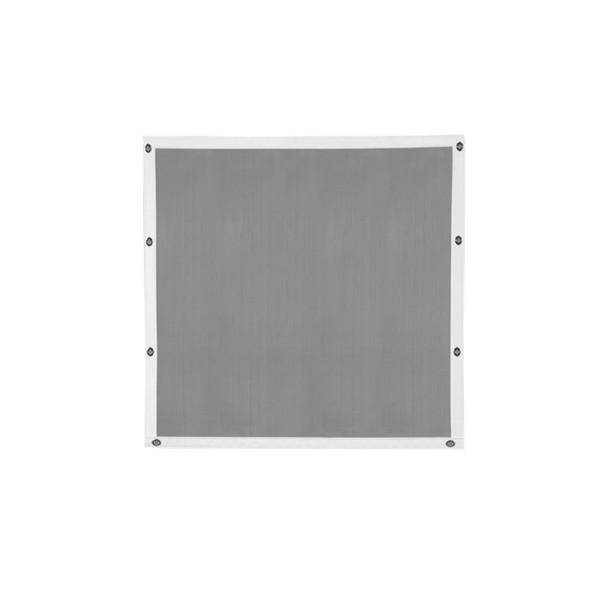 Peterbilt 357 375 377 378 379 Short Nose Belmor Bug Screen Aluminum w/ Silver Mesh