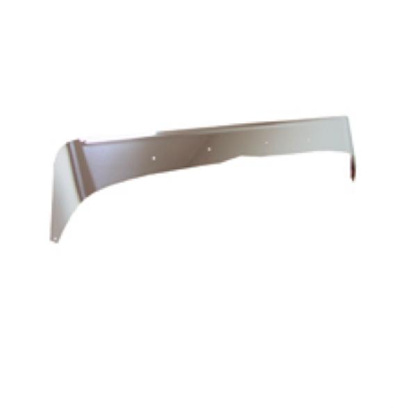 Peterbilt 378 379 Short Hood Stainless Steel Aeroshield