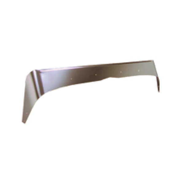 Peterbilt 379 Stainless Steel Aeroshield