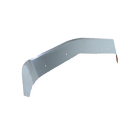 Kenworth T600 Stainless Steel Aeroshield Angle View