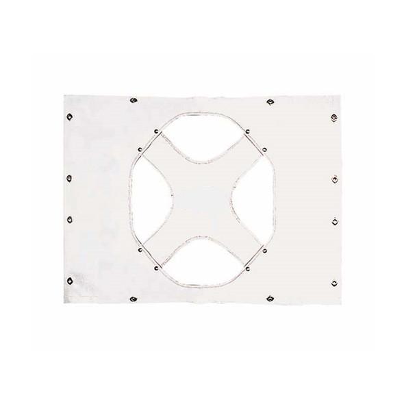 Peterbilt 379 Standard Hood/Long Hood White Quilted Winterfront