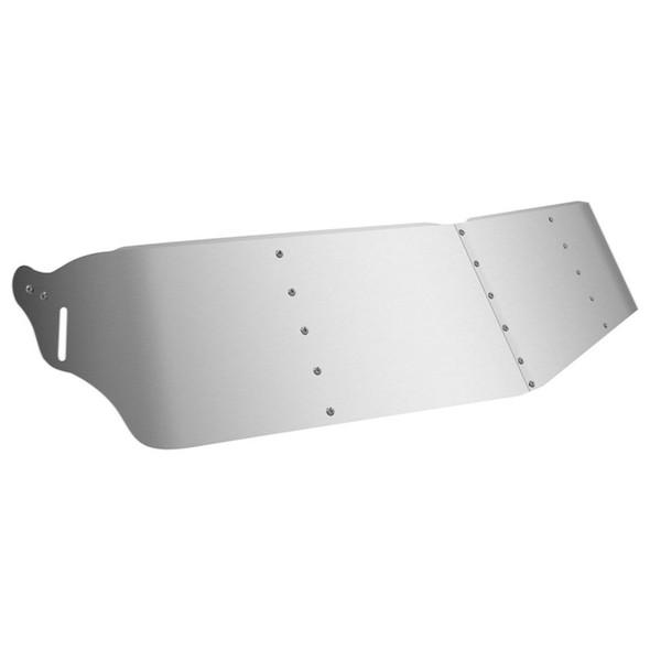 """12"""" Kenworth T660 Drop Visor Stainless Steel"""