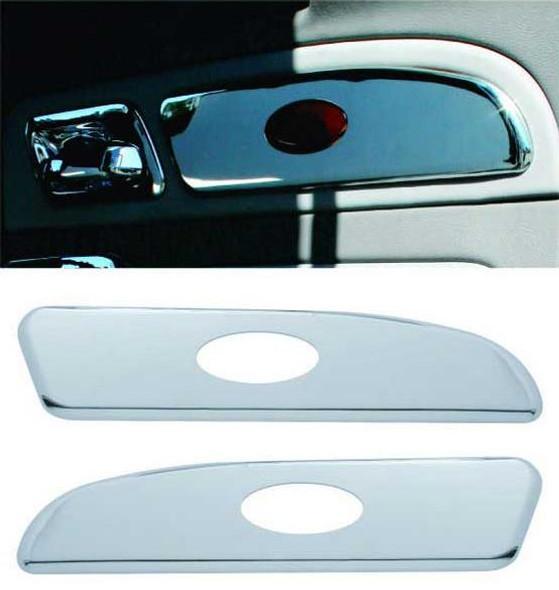 Peterbilt 2006 & Up Chrome Door Emblem Panel Trim