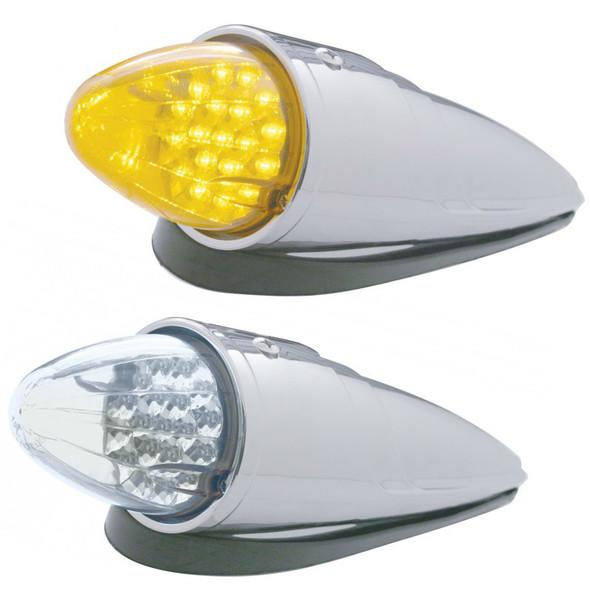 19 LED Torpedo Cab Light Grakon 1000 Style With Reflector