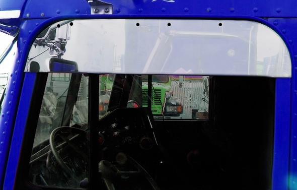 """Freightliner Classic FLD Chop Top Door Trim 5"""" Stainless Steel"""