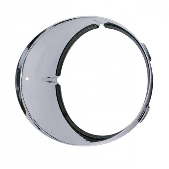 Freightliner Century Chrome Inner Headlight Bezel Driver Side