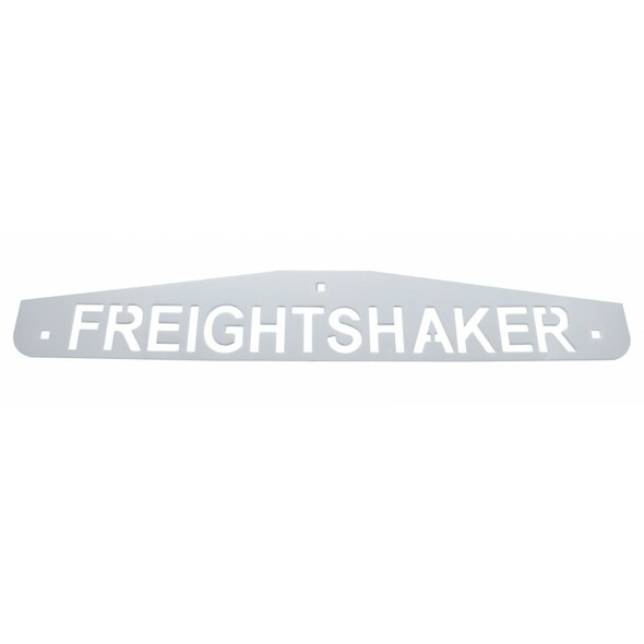 Freightshaker Chrome Bottom Mud Flap Weight