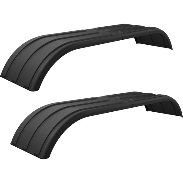 Minimizer Poly Truck Fenders Tandem Axle Black The Work Horse 4000 Series