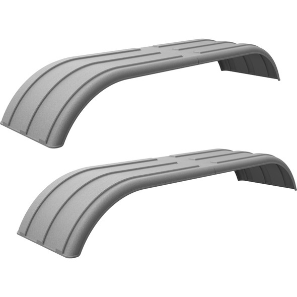 Minimizer Poly Truck Fenders Tandem Axle Galvanized Color The Work Horse 4000 Series