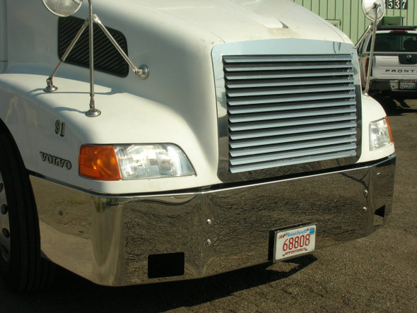 Volvo VNL 610 630 660 Louvered Grill Angle View