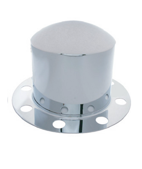 2Pc Dome Rear Axle Cover For Wheels With 33mm Lug Nuts