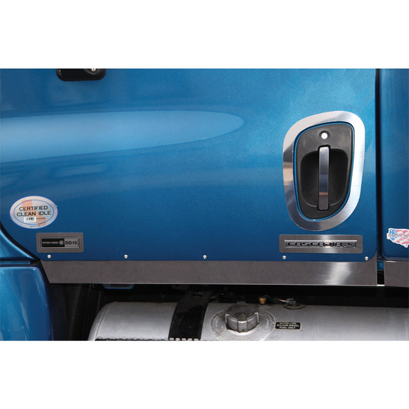 Freightliner Cascadia Blank Cab Panels On Truck
