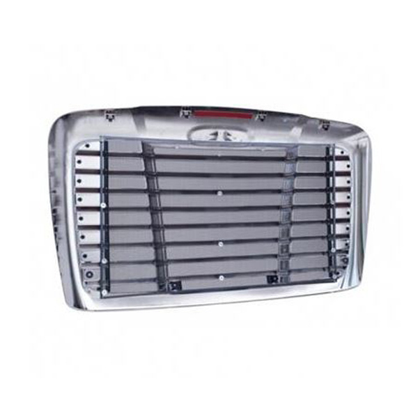 Freightliner Cascadia Chrome Grill With Bugscreen 2018 & Older A17-15624-002