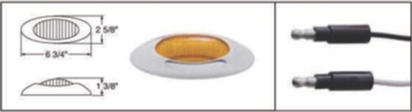 12 LED Phantom I Clearance Marker Light