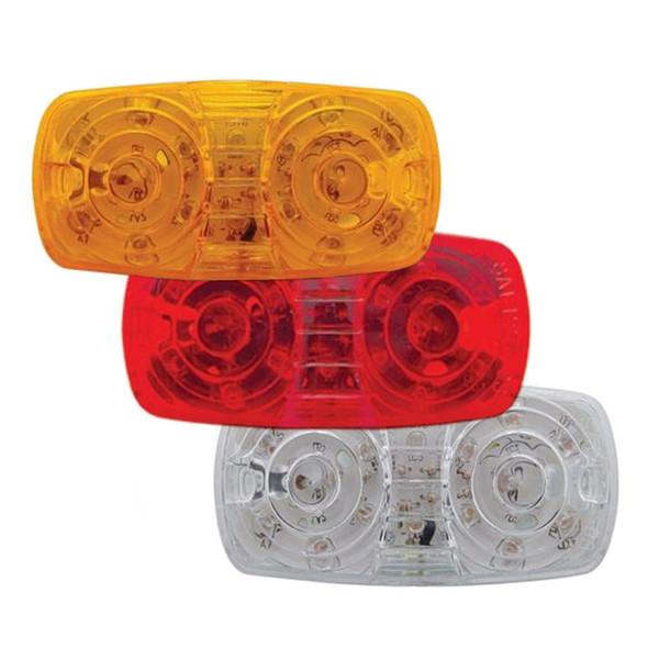 16 LED Rectangular Clearance Marker Light - Off