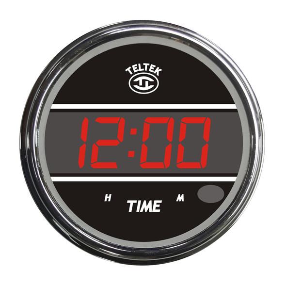 Clock Truck TELTEK Gauge - Red