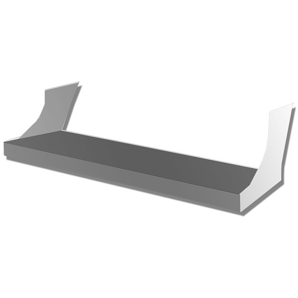 Freightliner Cascadia Battery Box Lower Step with Brackets Drawing