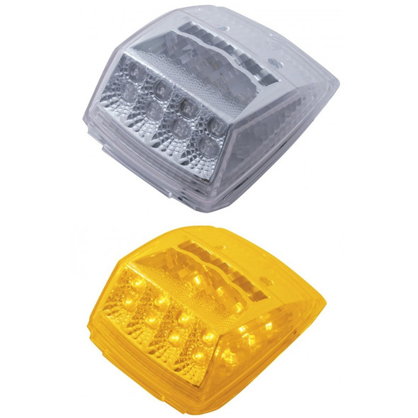 17 LED Square Cab Light With Reflector