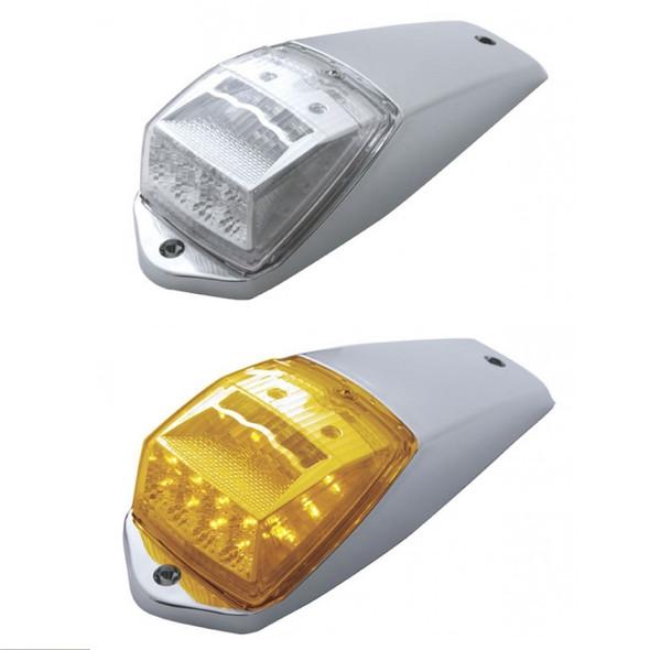 17 LED Square Reflector Cab Light Kit