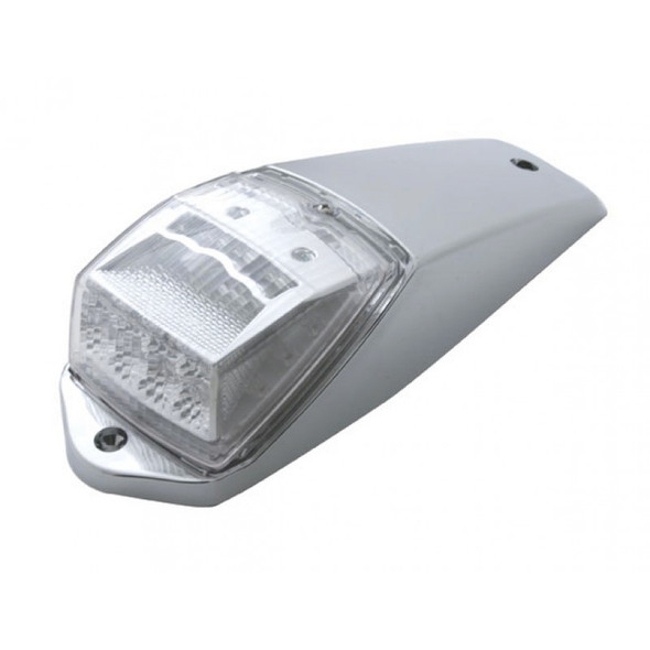 17 LED Square Reflector Cab Light Kit With Clear Lens