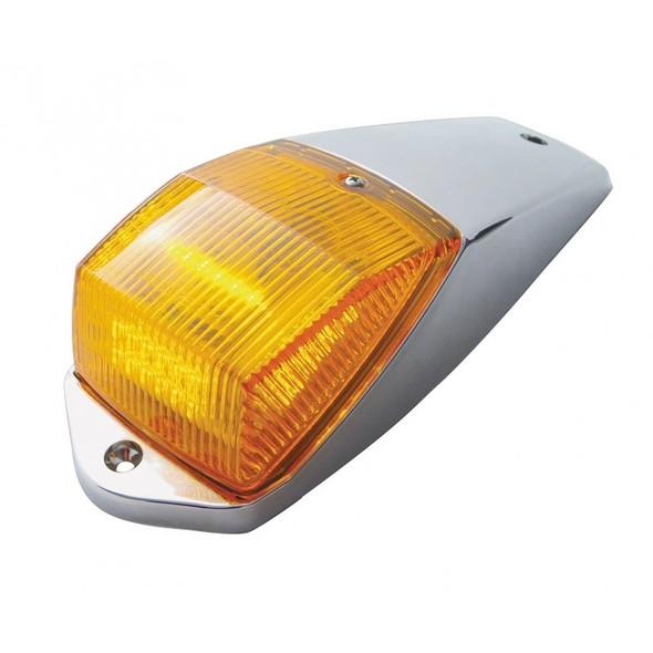 36 LED Chrome Cab Light Kit With Amber Lens