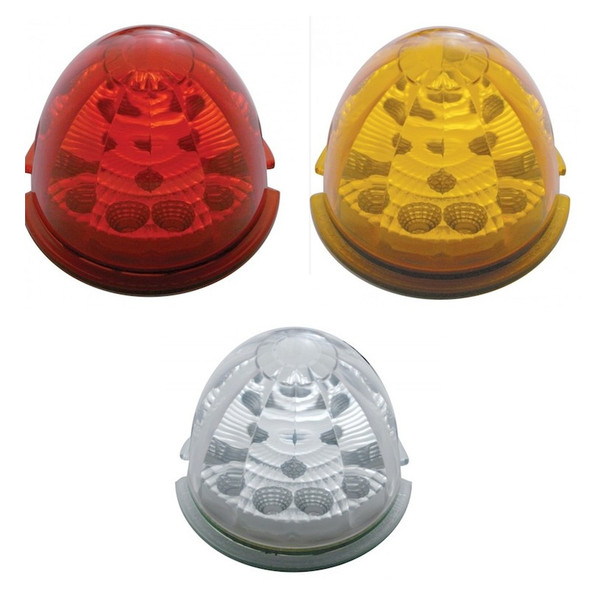 17 LED Reflector Cab Light With Watermelon Style Lens