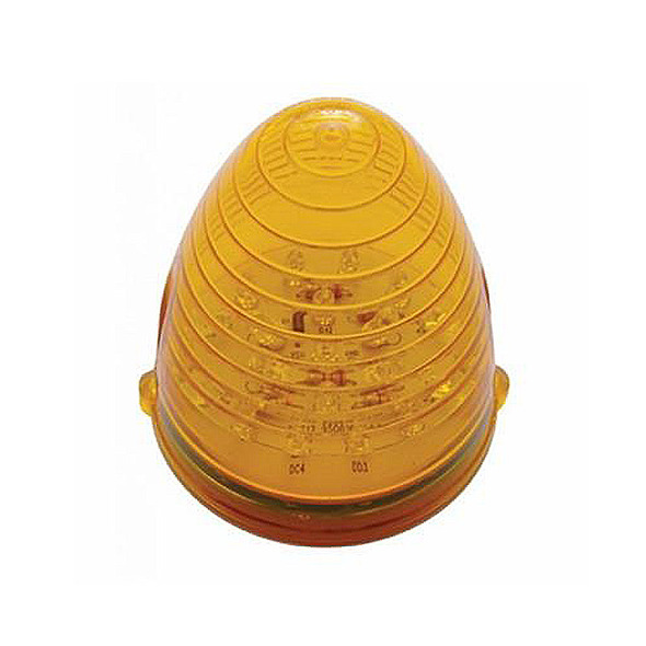 19 LED Grakon 1000 Beehive Cab Light - Single View Amber